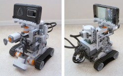 Lego Mindstorms robot powered by Nokia N900, Twitter