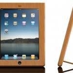 Vers Handcrafted Wood iPad case