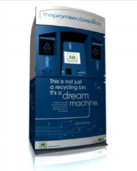 Pepsi Dream Machine Kiosks gives points for recycled bottles