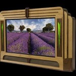 Make your HDTV look retro and stylish