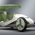 Concept car turns carbon dioxide into oxygen