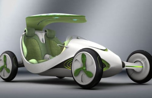 Concept Car Turns Carbon Dioxide Into Oxygen