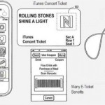 Apple files Patent for Digital Concert and Events tickets