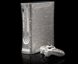 CrystalRoc decks out an Xbox 360 with Swarovski Crystals