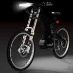 EVO-001 electric bike is limited edition and handmade