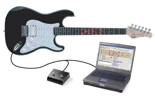 hands on fretlight guitar makes it easy to learn guitar. Black Bedroom Furniture Sets. Home Design Ideas