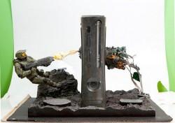 Custom Halo Xbox 360 shows Master Chief kicking butt