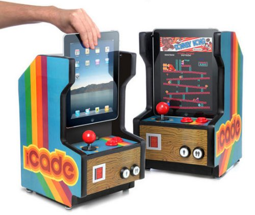 iCade mini arcade cabinet for iPad - SlipperyBrick.com
