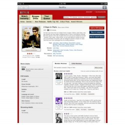 Official Netflix Streaming iPad app