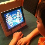 10-year-old makes his own iPad stand