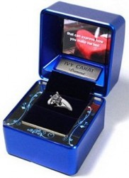 Ivy Carat Jewelry Case with multimedia videoshow