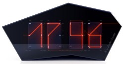 Art Lebedev's laser beam Reflectius clock