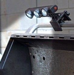 Adjustable Grill Light for that midnight barbecue