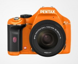 Pentax offers exotic K-x colors in the US