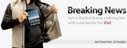 Scottevest debuts iPad compatible clothing line