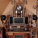 Steampunk All-in-one workstation