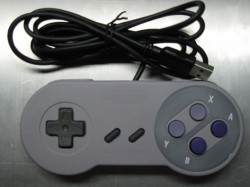 USB SNES controller with an Accelerometer