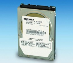 Toshiba's latest HDDs head for the dashboard