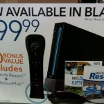 GameStop ad confirms Black Nintendo Wii at $200 in the US
