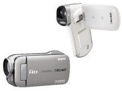 Sanyo announces 14MO full HD Xacti camcorders