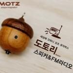 Motz Wooden Acorn Speaker