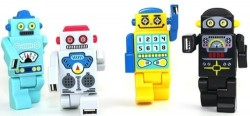 Robot USB Hubs with USB ports in their arms & legs