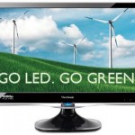 ViewSonic's VX2250wm-LED monitors go green
