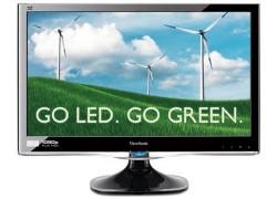 ViewSonic's VX2250wm-LED monitors go green