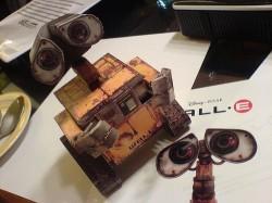 Wall-E paper model