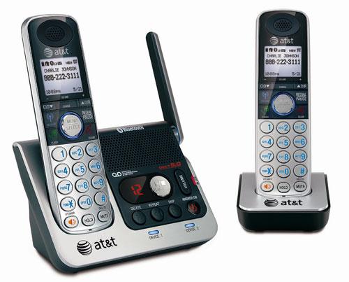 at t unveils new tl86109 cordless landline phone slipperybrick com