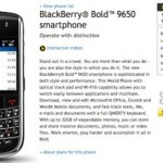 Sprint BlackBerry Bold 9650 goes on sale early