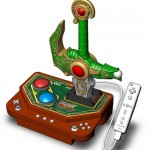 Dragon Quest game has a Sword controller
