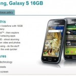 Samsung Galaxy S headed to Vodafone UK