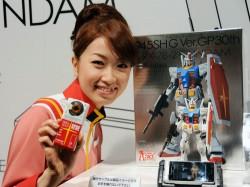 Japan Gundam Phone with Gundam dock