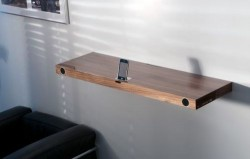 iPhone Dock doubles as a bookshelf