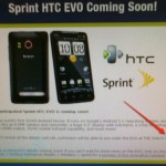 Sprint HTC Evo 4G handset up for pre-order this month
