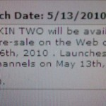 Microsoft Kin One and Kin Two for Pre-order on May 6th?