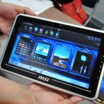 MSI shows off WindPad 100 at Computex