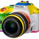 Pentax offers rainbow K-x DSLR in Japan in mercifully limited numbers
