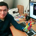 MIT student develops colorful 3D gloves for better gesture based applications