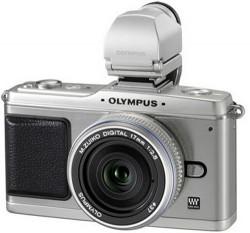 Olympus silver PEN E-P2 Micro Four Thirds camera