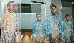 The Star Trek crew beams into Microsoft offices
