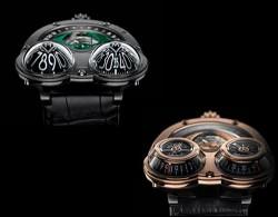 Maximilian Busser's Frog watch