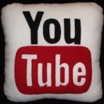 YouTube and Yahoo pillows