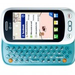 LG Town GT350 messaging phone for social networking