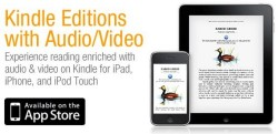 Amazon Kindle Editions with video and audio