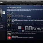 Screenshots of BlackBerry Shield surface