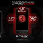 Verizon Droid X outted on its own site