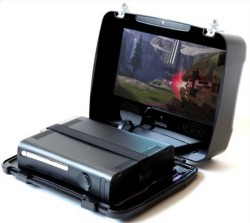 GAEMS suitcase makes your Xbox 360 portable