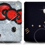 Hello Kitty Swarovski iPad Case for rich geek girls